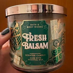 Bath and Body Works Fresh Balsam Candle